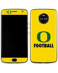 Oregon Football Moto X4 Skin