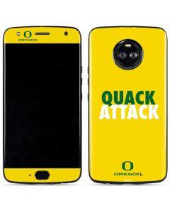 Oregon Quack Attack Moto X4 Skin