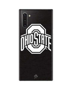OSU Ohio State Black Galaxy Note 10 Skin