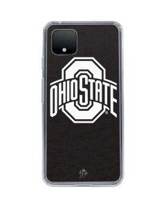 OSU Ohio State Black Google Pixel 4 Clear Case