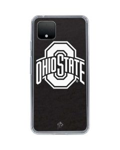 OSU Ohio State Black Google Pixel 4 Clear Case