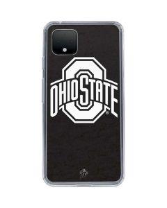 OSU Ohio State Black Google Pixel 4 XL Clear Case