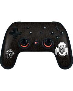 OSU Ohio State Black Google Stadia Controller Skin