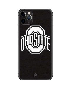 OSU Ohio State Black iPhone 11 Pro Max Skin