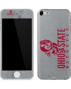 OSU Ohio State Buckeye Character Apple iPod Skin
