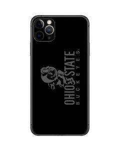 OSU Ohio State Buckeyes Black iPhone 11 Pro Max Skin