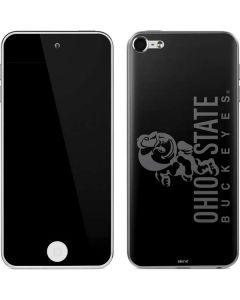 OSU Ohio State Buckeyes Black Apple iPod Skin