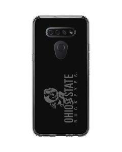 OSU Ohio State Buckeyes Black LG K51/Q51 Clear Case