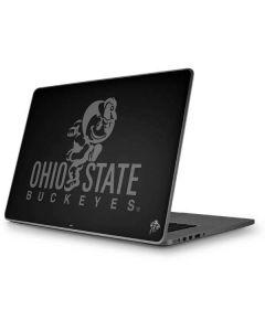 OSU Ohio State Buckeyes Black Apple MacBook Pro 17-inch Skin