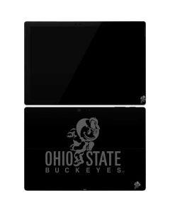 OSU Ohio State Buckeyes Black Surface Pro 7 Skin