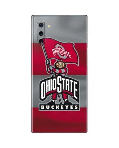 OSU Ohio State Buckeyes Flag Galaxy Note 10 Skin