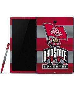 OSU Ohio State Buckeyes Flag Samsung Galaxy Tab Skin