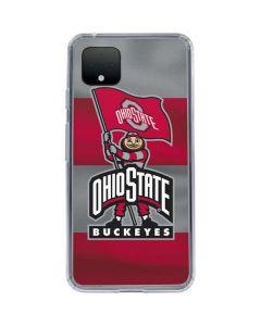 OSU Ohio State Buckeyes Flag Google Pixel 4 Clear Case