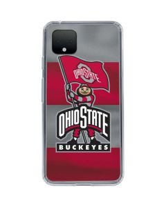 OSU Ohio State Buckeyes Flag Google Pixel 4 Clear Case