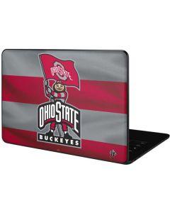 OSU Ohio State Buckeyes Flag Google Pixelbook Go Skin