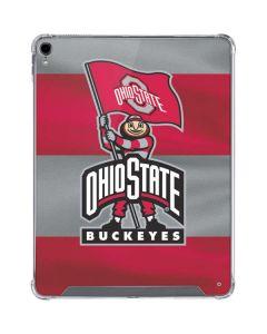 OSU Ohio State Buckeyes Flag iPad Pro 12.9in (2018-19) Clear Case