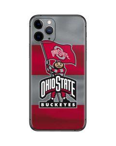OSU Ohio State Buckeyes Flag iPhone 11 Pro Skin