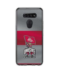 OSU Ohio State Buckeyes Flag LG K51/Q51 Clear Case