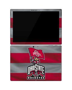 OSU Ohio State Buckeyes Flag Surface Pro 7 Skin