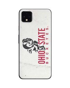 OSU Ohio State Buckeyes Light Grey Google Pixel 4 XL Skin