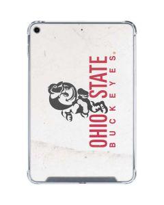 OSU Ohio State Buckeyes Light Grey iPad Mini 5 (2019) Clear Case
