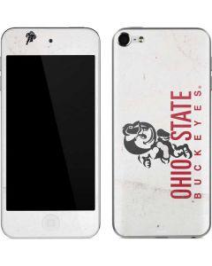 OSU Ohio State Buckeyes Light Grey Apple iPod Skin