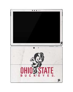 OSU Ohio State Buckeyes Light Grey Surface Pro 7 Skin
