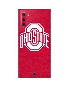 OSU Ohio State Buckeyes Red Logo Galaxy Note 10 Skin