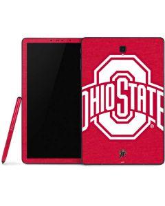 OSU  Ohio State Buckeyes Red Logo Samsung Galaxy Tab Skin