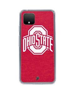 OSU Ohio State Buckeyes Red Logo Google Pixel 4 Clear Case