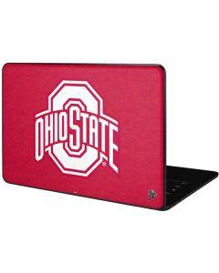 OSU Ohio State Buckeyes Red Logo Google Pixelbook Go Skin