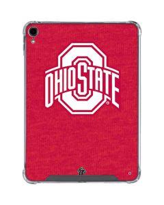 OSU Ohio State Buckeyes Red Logo iPad Pro 11in (2018-19) Clear Case
