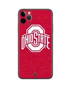 OSU Ohio State Buckeyes Red Logo iPhone 11 Pro Max Skin