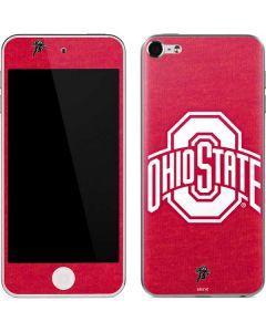 OSU  Ohio State Buckeyes Red Logo Apple iPod Skin