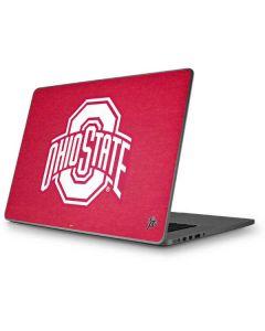 OSU  Ohio State Buckeyes Red Logo Apple MacBook Pro 17-inch Skin