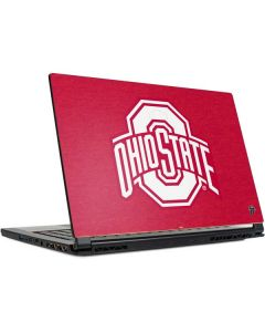 OSU Ohio State Buckeyes Red Logo MSI GS65 Stealth Laptop Skin
