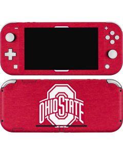 OSU Ohio State Buckeyes Red Logo Nintendo Switch Lite Skin