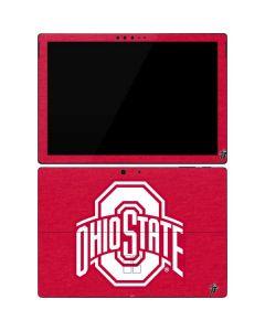 OSU Ohio State Buckeyes Red Logo Surface Pro 7 Skin