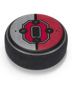 OSU Ohio State Buckeyes Split Amazon Echo Dot Skin