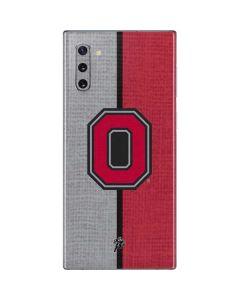 OSU Ohio State Buckeyes Split Galaxy Note 10 Skin