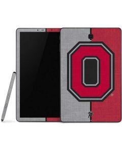 OSU Ohio State Buckeyes Split Samsung Galaxy Tab Skin