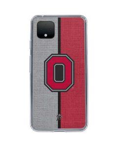 OSU Ohio State Buckeyes Split Google Pixel 4 Clear Case