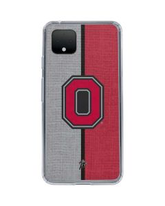 OSU Ohio State Buckeyes Split Google Pixel 4 Clear Case