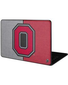 OSU Ohio State Buckeyes Split Google Pixelbook Go Skin