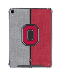 OSU Ohio State Buckeyes Split iPad Pro 11in (2018-19) Clear Case