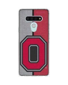 OSU Ohio State Buckeyes Split LG Stylo 6 Clear Case