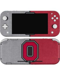 OSU Ohio State Buckeyes Split Nintendo Switch Lite Skin