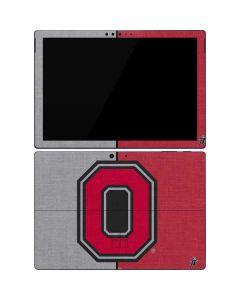 OSU Ohio State Buckeyes Split Surface Pro 7 Skin