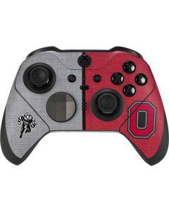 OSU Ohio State Buckeyes Split Xbox Elite Wireless Controller Series 2 Skin