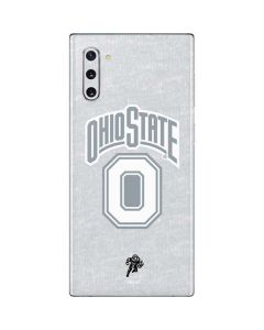 OSU Ohio State Faded Galaxy Note 10 Skin